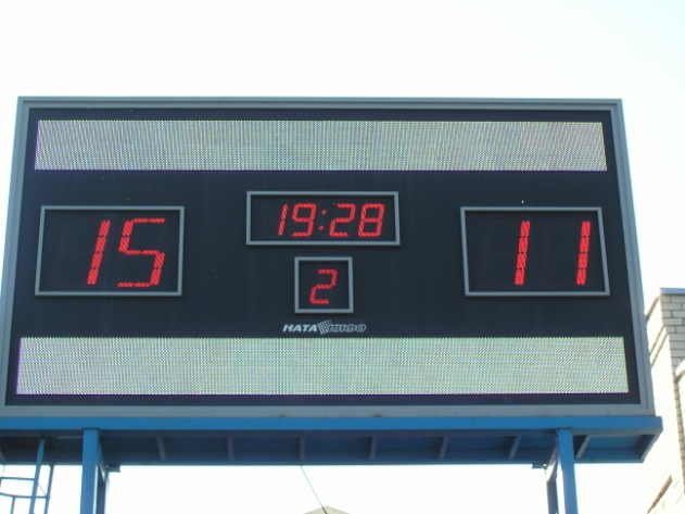 Универсальное электронное табло для стадионов «НАТА 3414»