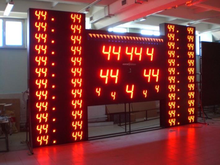 Универсальное информационное табло для спортивных игр «НАТА 2020»