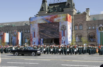 Главный экран парада Победы сделан в Йошкар-Оле!