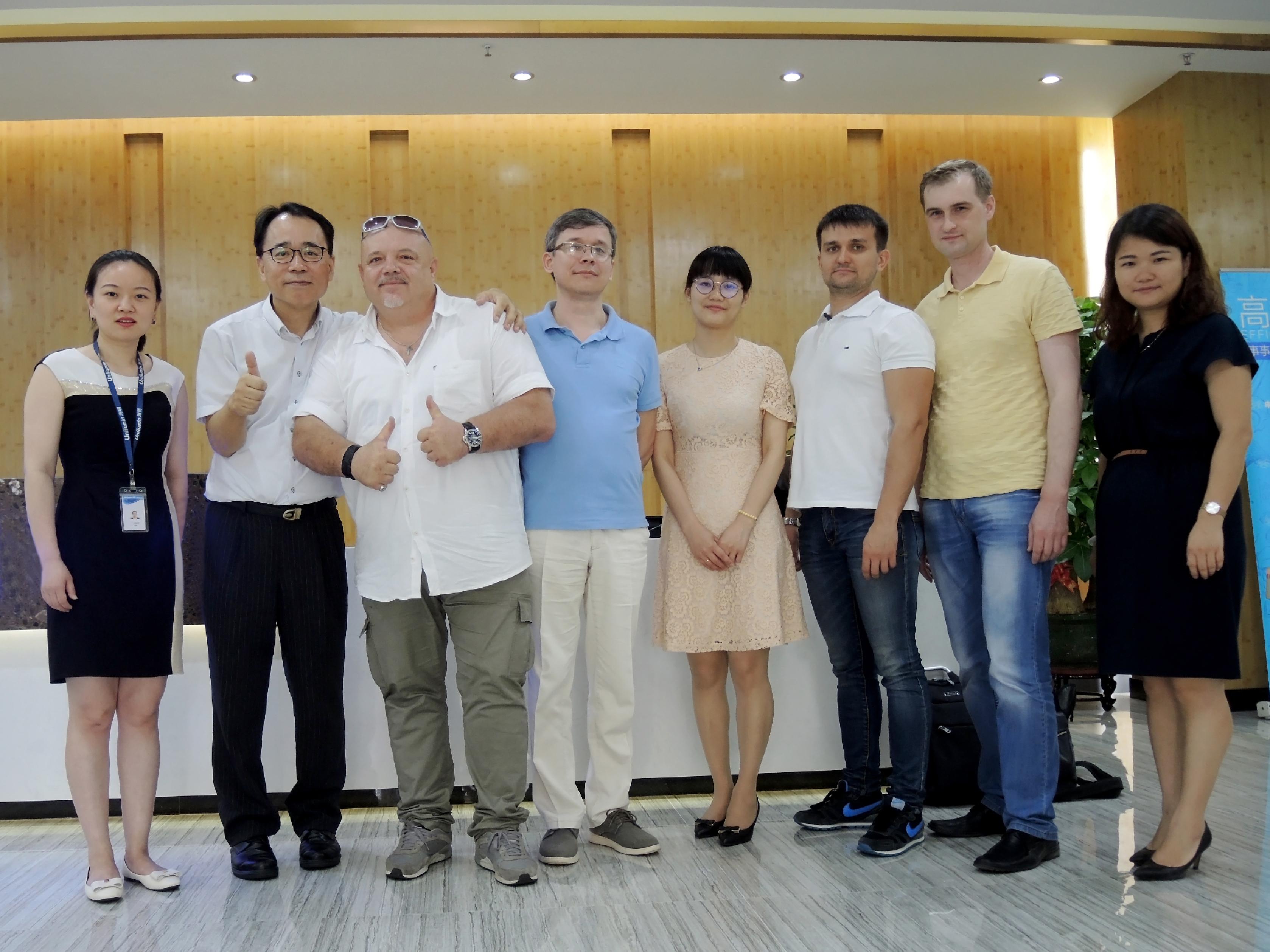 Визит Ната-Инфо в Китай