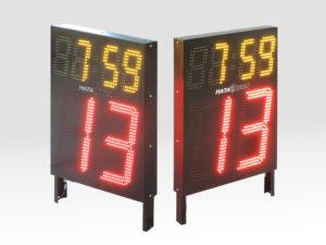ната-инфо; светодиодный экран; спортивное табло; табло времени атаки